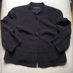 Jones New York Navy Blazer Coat